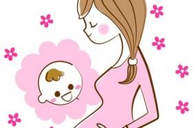 妊婦と赤ちゃん